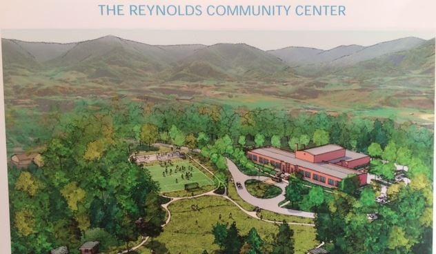 Artist's rendering of the community center (Feb. 28, 2017/ FOX Carolina)