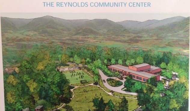 Artist's rendering of the community center (Feb. 28, 2017/ FOX Carolina)