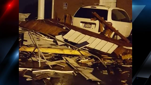 Another look at the damage (Courtesy: Dorothy White)