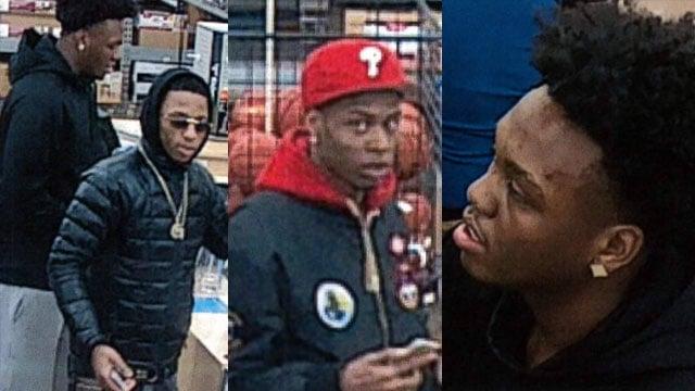 The three suspects (Courtesy: Waynesville PD)