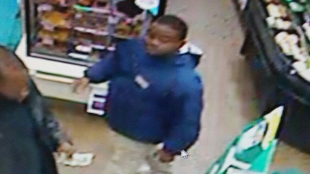 Deputies seek suspect in larceny incident at Oconee Co. 7-Eleven store. (Source: OCSO)