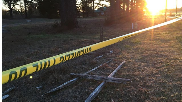 Scene of officer-involved shooting in Greenville Co. (March 4, 2017 FOX Carolina)