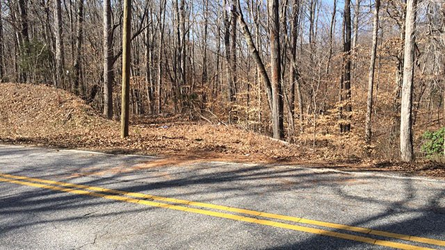 Scene of fatal collision on Beaver Dam Road. (March 5, 2017 FOX Carolina)