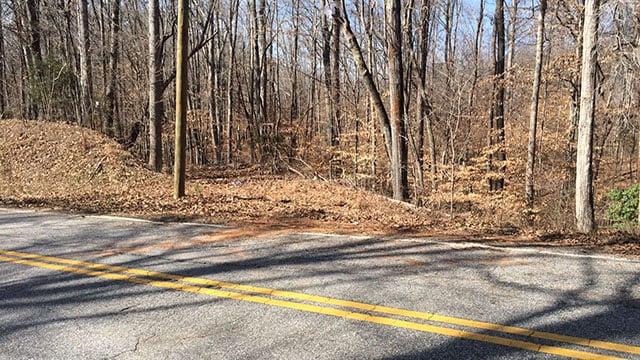 Scene of fatal collision on Beaver Dam Road. (March 5, 2017 FOX Carolina)