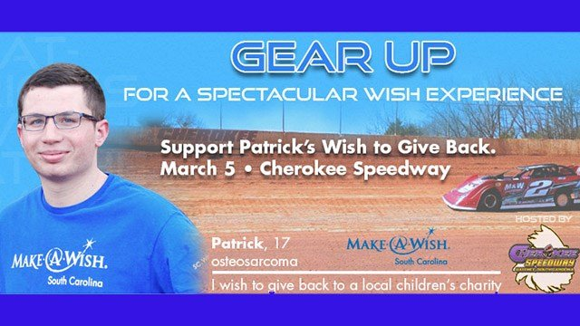 Patrick's wish. (Source: Make-A-Wish)