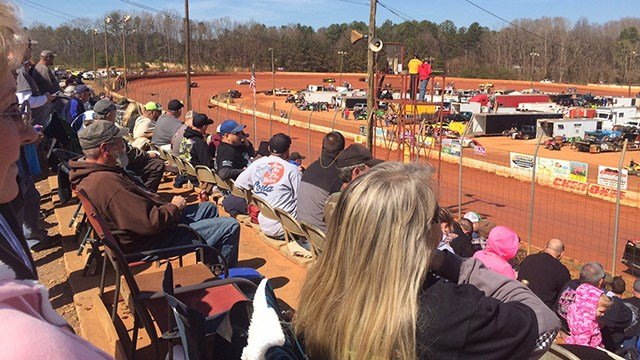 Fundraiser at Cherokee Speedway. (March 5, 2017 FOX Carolina)