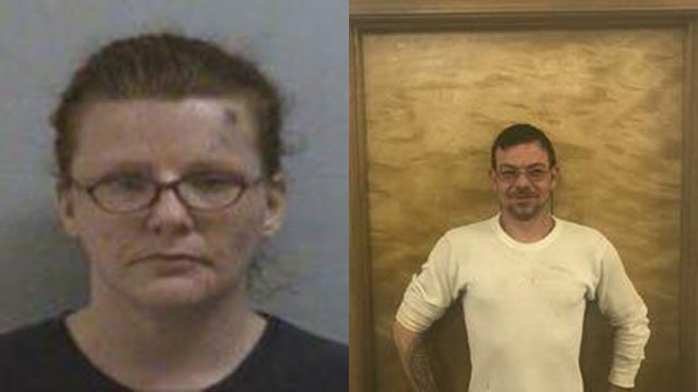 Heather Pendley and Ray Jones (Source: Mitchell Co. Sheriff's Office)