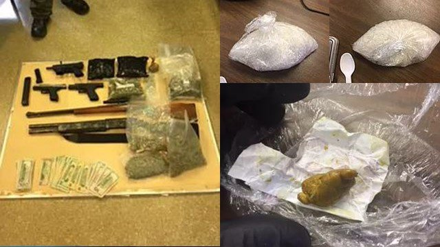 "Narcotics seized in ""Operation New Years Resolution"". (Source: LCSO)"