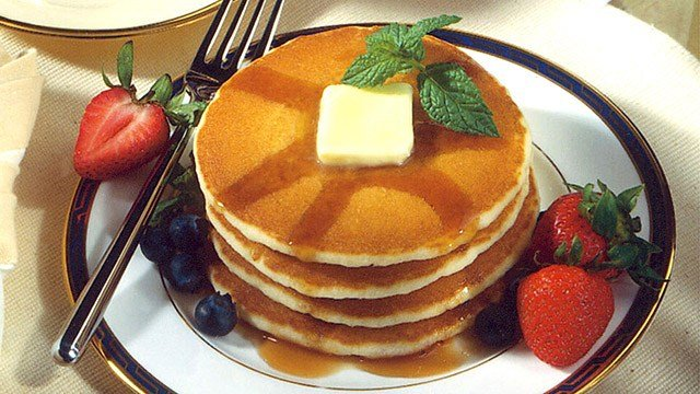 Stack of pancakes. (Source: AP Images)