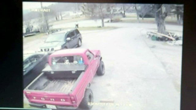 Chief: Surveillance footage captures woman assaulted, kidnapped by man in Transylvania County. (Source: TCSO)