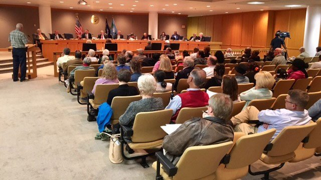 Greenville Co. Council met Tuesday to discuss a proposed ordinance. (March 7, 2017 FOX Carolina)