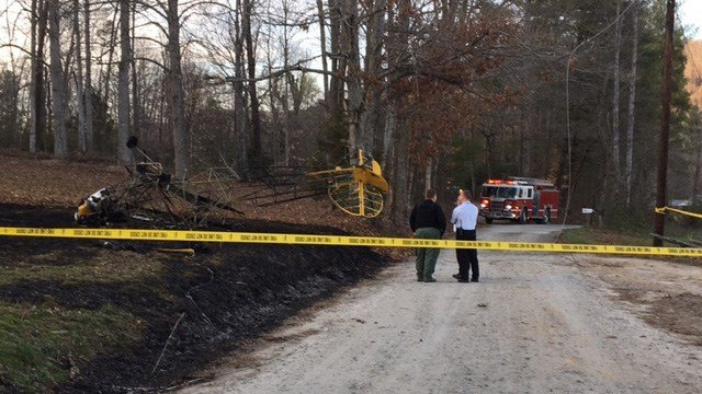 Plane down in Hendersonville. (FOX Carolina/ 3/9/17)