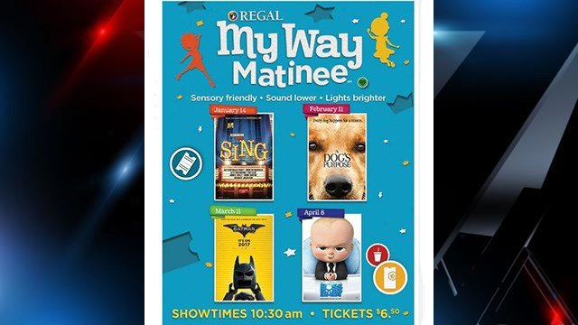 My Way Matinee presents The Lego Batman Movie on March 11 at select theatres nationwide. (Source: Regal Cinemas website)