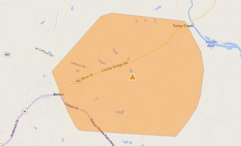 (Duke Energy's Online Outage Map)