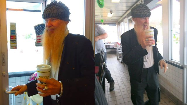 Billy Gibbons of ZZ Top in Anderson (Courtesy: Brandon McCullough)