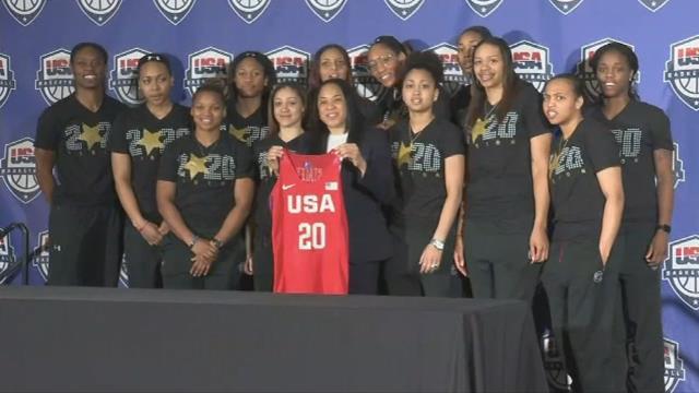 Dawn Staley named U.S. Olympic head coach. (FOX Carolina/ March 10, 2017)