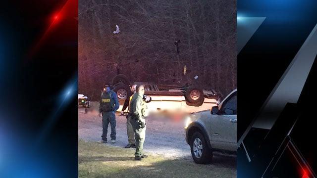 Scene of deadly Honea Path crash. (Source:iWitness)