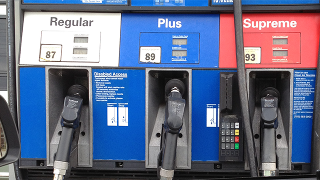 Gas pumps. (Source: AP Images)
