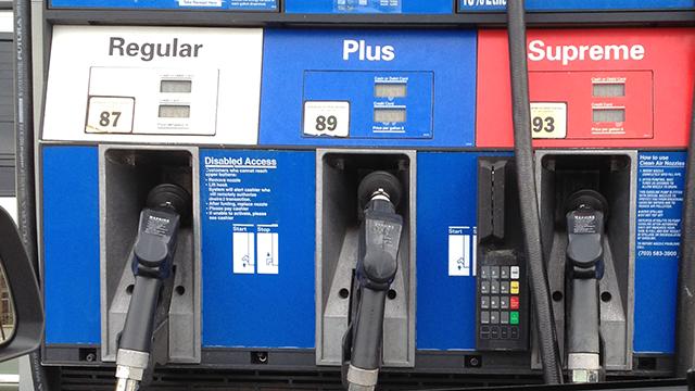 Gas pumps. (Source: AP Images)