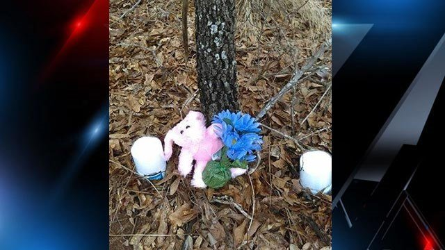 Memorial in honor of Abigail. (Source: family)