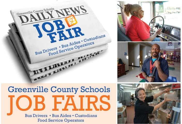 Job fair (Source: Greenville County Schools)