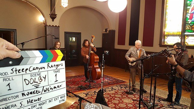 Steve Martin and Steep Canyon Rangers. (Source: Facebook)
