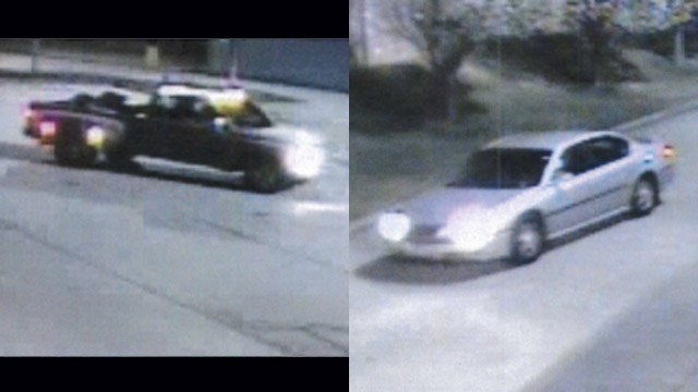 Police say these were the getaway cars of the suspects. (Source: SPD)