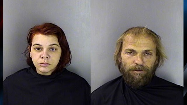 April Green (left) and Leon Kay (Courtesy: Greenwood Co. Detention Center)