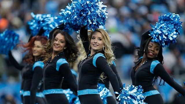 Carolina Panthers Cheerleaders (Source: AP images)