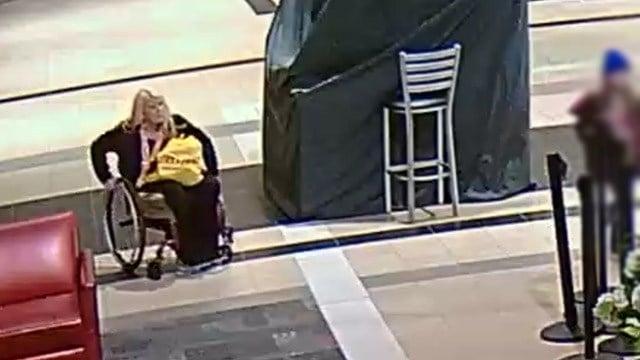 Police: Suspect wanted for grand larceny at Haywood Mall. (March 14, 2017 FOX Carolina)