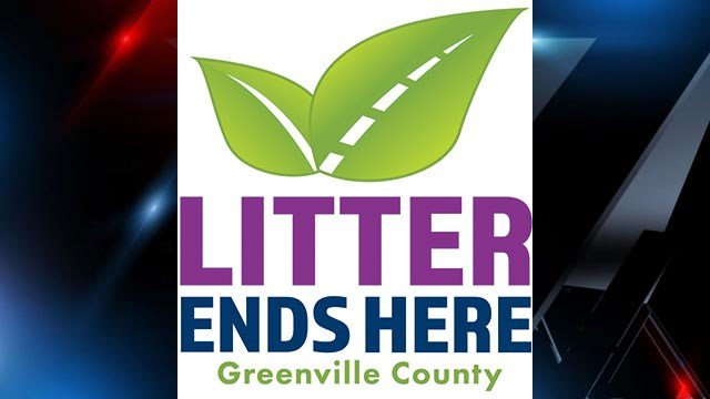 Litter Ends Here logo (Source: Greenville Co.)