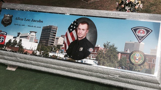 Officer Allen Jacobs was shot and killed March 18, 2017 (FOX Carolina)