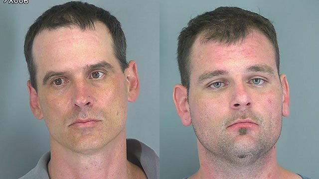 Shannon M. Lancaster (left) and Justin David Quinn (right) (Source: Spartanburg County Sheriff's Office)