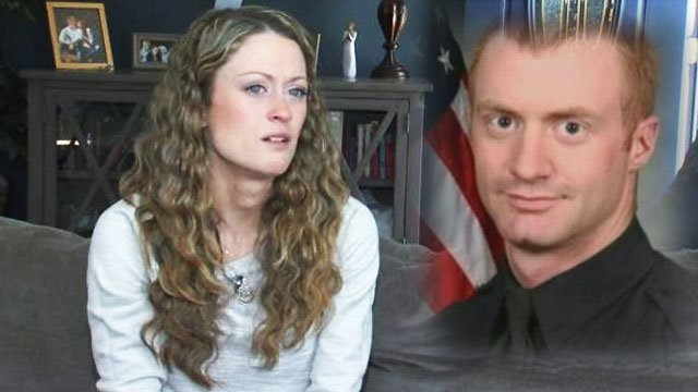 Meghan Jacobs spoke openly about her husband's line of duty death (FOX Carolina/ File)