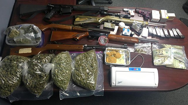 Greenwood County deputies recovered a cache of illegal drugs, firearms and money after executing a search warrant at a Greenwood County residence. (3/16/17)