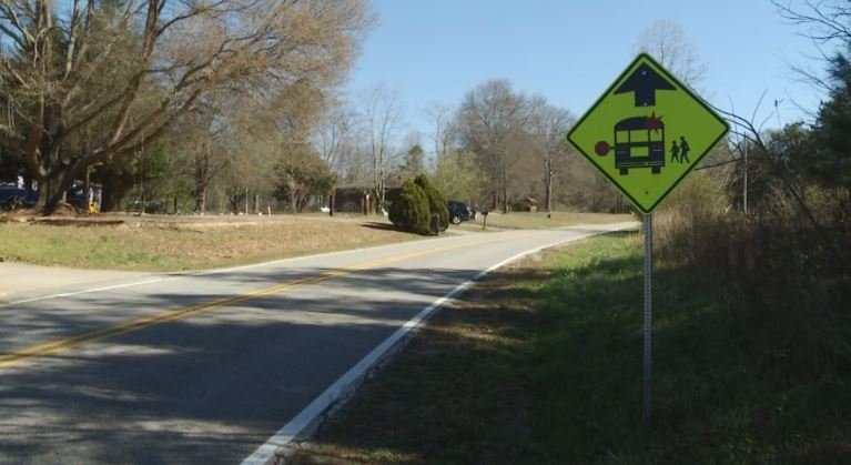 Gentry Road residents want speed bumps (FOX Carolina)