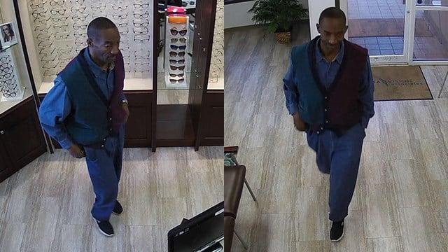 Rayban shoplifting suspect (Source: SPD)