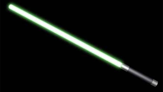 Light saber. (Source: AP Images)