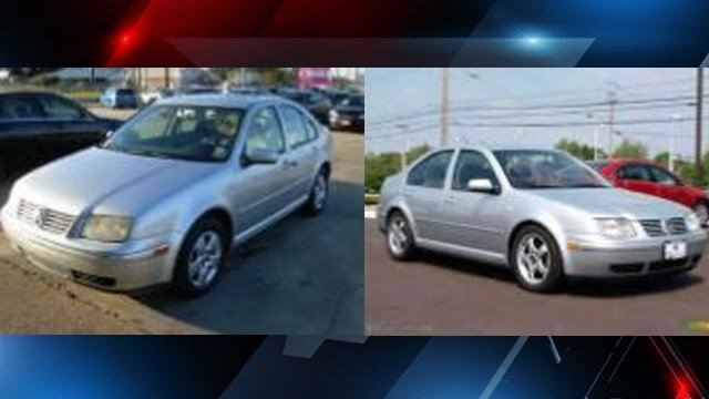 Volkswagen Jetta, similar to that of vehicle involved in hit-and-run. (Source: SC Public Safety)