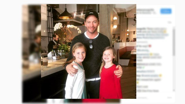 Harry Connick Jr. at Caviar and Bananas. (Source: Instagram)