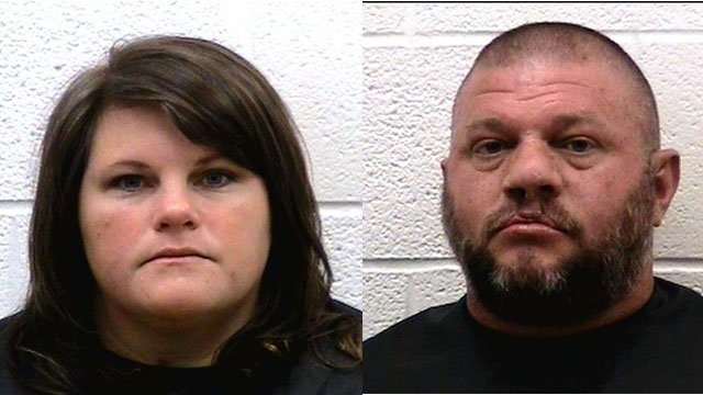Rebecca and Travis Toms (Courtesy: Rutherford Co. Sheriff)