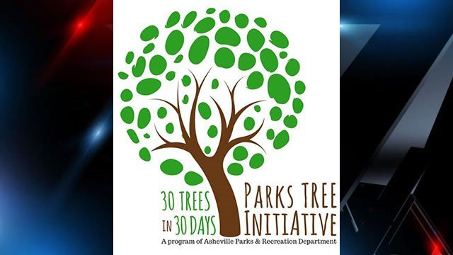 30 Trees in 30 Days program (Source: ashevillenc.gov)
