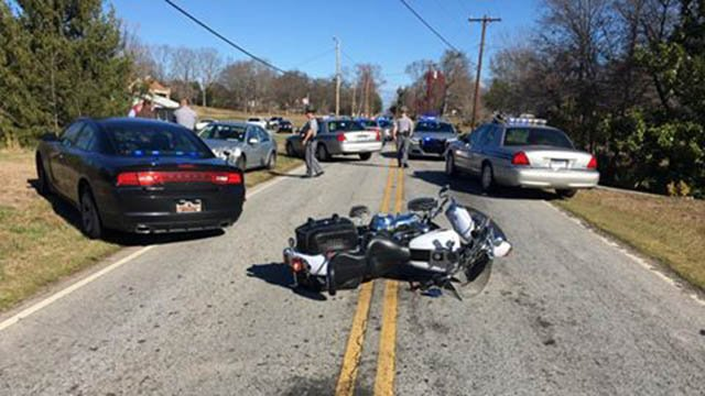 Trooper-involved motorcycle crash (Source: Jeffrey Millwood)