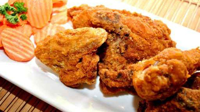Fried chicken. (Source: AP Images)