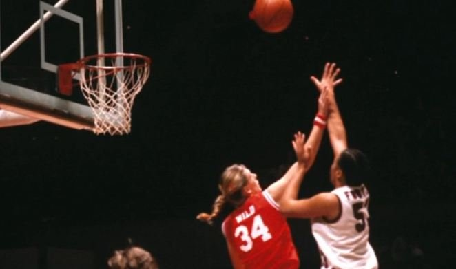 Foster holds the record at USC for most points scored in a basketball career there (Courtesy: Sheila Foster)