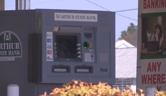 The ATM was up and running Thursday, but more than 40 people have reported money stolen (FOX Carolina)