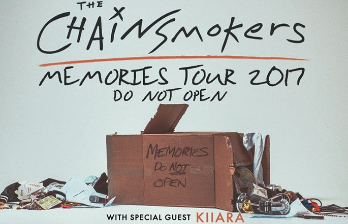 The Chainsmokers (Colonial Life Arena)