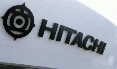 Hitachi logo (Wikimedia Commons)