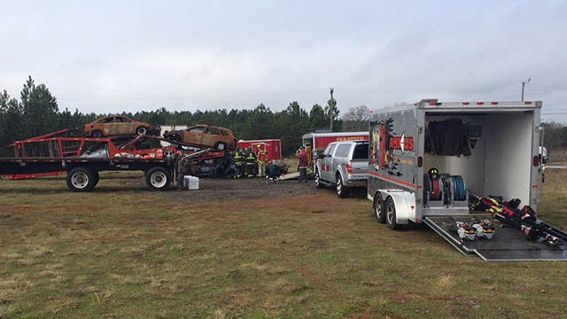 Townville rescue training (Mar. 26, 2017/FOX Carolina)