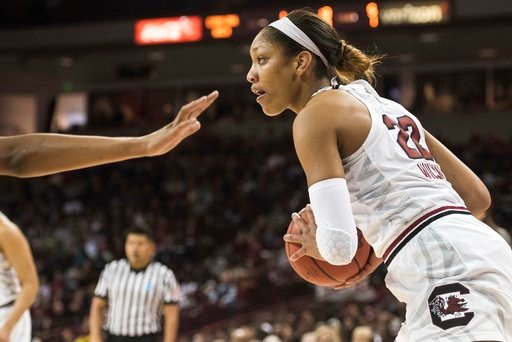 South Carolina forward A'ja Wilson (Source: Associated Press)